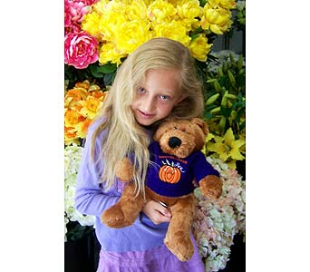 Happy Halloween Bear in Palm Desert CA, Milan's Flowers & Gifts