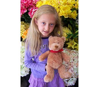 Red Bow Bear in Palm Desert CA, Milan's Flowers & Gifts