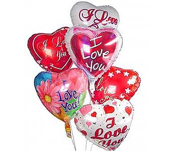 8 Romantic Balloon Bouquet in Palm Desert CA, Milan's Flowers & Gifts
