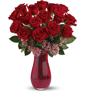 Teleflora's Elegant Love Bouquet in Houston TX, Classy Design Florist