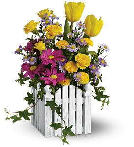 Teleflora's Picket Fence Bouquet in Toronto ON, Capri Flowers & Gifts