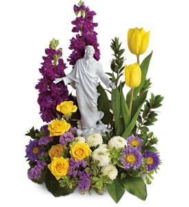 Teleflora's Sacred Grace Bouquet in McHenry IL, Locker's Flowers, Greenhouse & Gifts