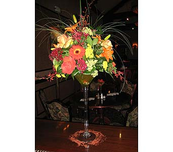 Flower Martini in Massapequa Park NY, Bayview Florist & Montage  1-800-800-7304
