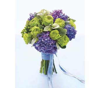 Purple & Green Bouquet with Callas in Perrysburg & Toledo OH  OH, Ken's Flower Shops