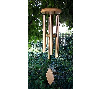 Windchime 37'' Peaceful Bronze in Owensboro KY, Welborn's Floral Company