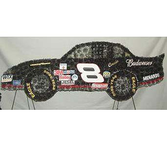 Dale Jr Race Car in Salisbury MD, Kitty's Flowers