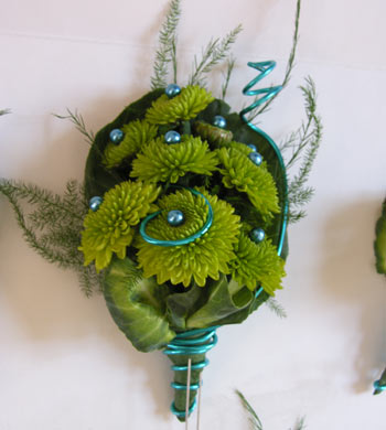 Wired Corsage in Pleasanton CA, Tri Valley Flowers