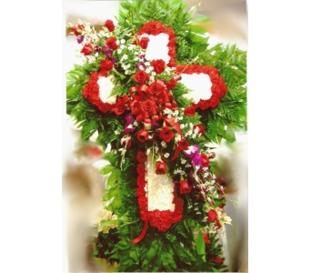 Devoted Cross in Hialeah FL, Bella-Flor-Flowers