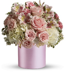 Teleflora's Sweet Pinks Bouquet in Dubuque IA, New White Florist