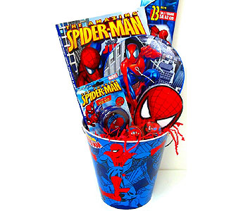 KGB25 ''Amazing Spiderman'' Gift Basket in Oklahoma City OK, Array of Flowers & Gifts