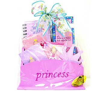 KGB4 ''Princess'' Gift Basket in Oklahoma City OK, Array of Flowers & Gifts