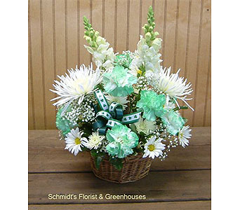 St. Patrick's Day Basket in Philadelphia PA, Schmidt's Florist & Greenhouses