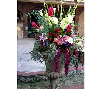 Floral Urn in Fort Worth TX, TCU Florist