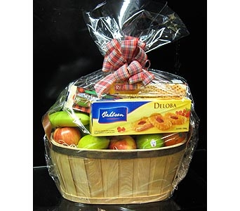 Thoughtfull Fruit and Gourmet Basket in New Paltz NY, The Colonial Flower Shop