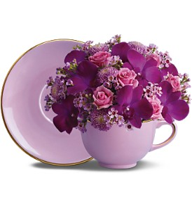 Teleflora's Teatime Bouquet in San Diego CA, Flowers Of Point Loma