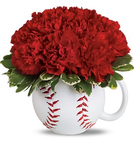 Teleflora's Play Ball Bouquet in Philadelphia PA, Schmidt's Florist & Greenhouses