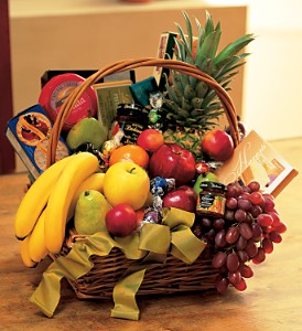 Gourmet Fruit Basket in Medford NY, Sweet Pea Florist