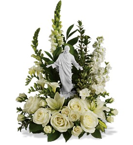 Teleflora's Garden of Serenity Bouquet in Hamilton OH, Gray The Florist, Inc.
