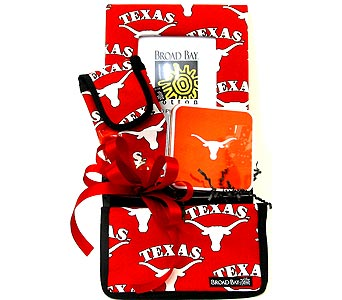 TX01 ''Texas Longhorns'' Gift Basket in Oklahoma City OK, Array of Flowers & Gifts