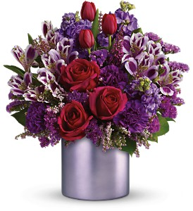 Teleflora's Unforgettable in Dubuque IA, New White Florist