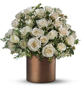 Teleflora's Love Happens Bouquet in Dubuque IA, New White Florist