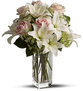 Teleflora's Heavenly and Harmony in Rock Island IL, Colman Florist