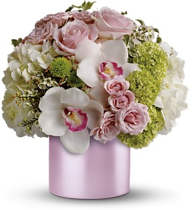 Teleflora's Love Song in Dubuque IA, New White Florist