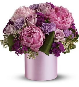 Teleflora's Princess Peony Bouquet in Isanti MN, Elaine's Flowers & Gifts