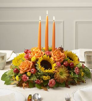 Autumn Celebration Centerpiece in Sayville NY, Sayville Flowers Inc