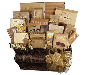 GF96 ''Chocolate, Etc.'' Gourmet Food Gift in Oklahoma City OK, Array of Flowers & Gifts