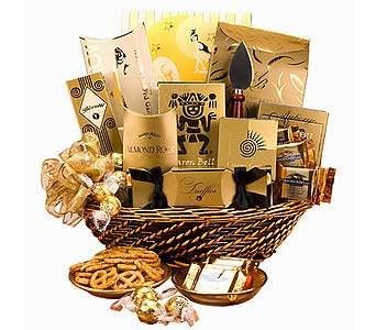 Golden Celebration Gift Basket in Los Angeles CA, RTI Tech Lab