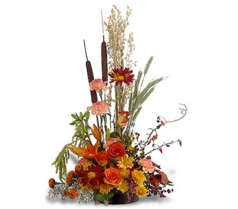 Shades of Autumn in Bakersfield CA, White Oaks Florist