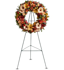 Wreath of Remembrance in Orange CA, Main Street Florist