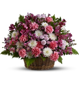 Garden Basket Blooms in Orange CA, Main Street Florist