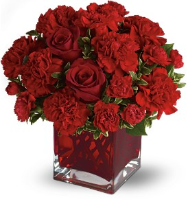 Teleflora's Precious Love - Deluxe with Red Roses in Batavia IL, Batavia Floral in Bloom, Inc
