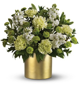 Teleflora's Touch of Gold Bouquet in El Paso TX, Blossom Shop