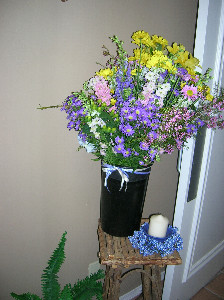 Garden Wildflower Bouquet in Memphis TN, Debbie's Flowers & Gifts