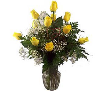 Dazzle Dozen Yellow in Port St Lucie FL, Flowers By Susan