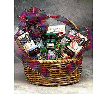 Coffee Connoisseur Gift Basket in Glendale AZ, Blooming Bouquets