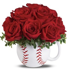 Teleflora's Play Ball Bouquet Deluxe in Chicago IL, Yera's Lake View Florist