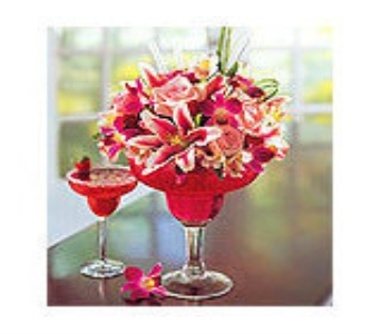Strawberry Floral Margarita in Orlando FL, University Floral & Gift Shoppe