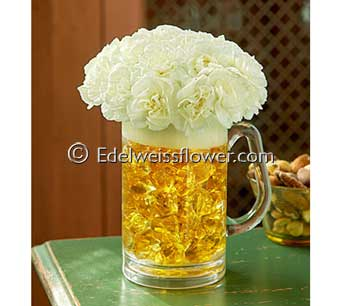 Toast the Day! Flower Bouquet in Santa Monica CA, Edelweiss Flower Boutique