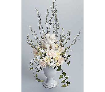 Collectible Figurine Arrangment in West Bloomfield MI, Happiness is...Flowers & Gifts