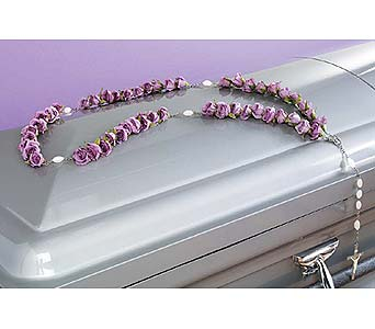 Lavender Rose Rosary in West Bloomfield MI, Happiness is...Flowers & Gifts