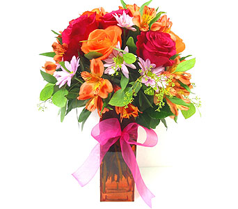 FF114 ''Show Stopper'' Flower Bouquet in Oklahoma City OK, Array of Flowers & Gifts