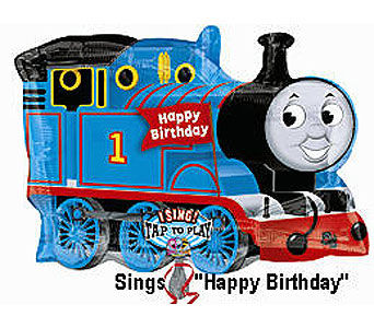 BB329 Thomas The Train Birthday 36'' Singing Mylar in Oklahoma City OK, Array of Flowers & Gifts