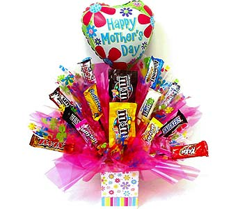 MDCB88 ''Sweetest Mother'' Candy Bouquet in Oklahoma City OK, Array of Flowers & Gifts