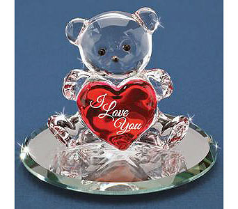 Heart of Love Bear in Lake Forest CA, Cheers Floral Creations