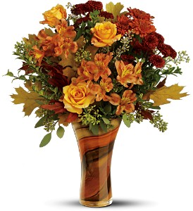 Teleflora's Artful Autumn Bouquet in Lenexa KS, Eden Floral and Events