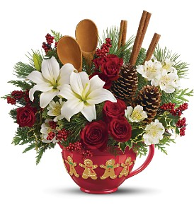 Teleflora's Mixing Bowl Bouquet - Deluxe in Mobile AL, Cleveland the Florist